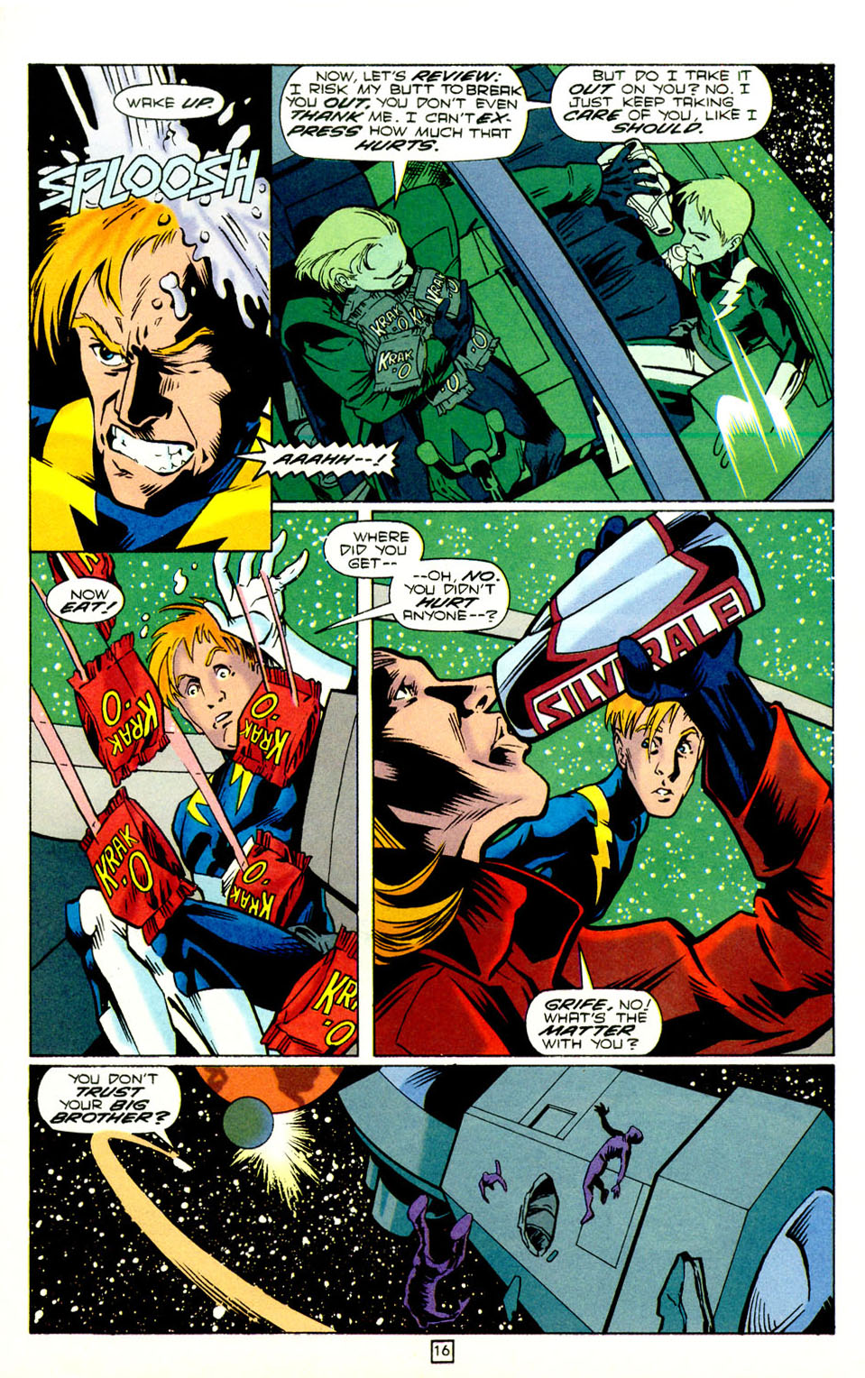 Legion of Super-Heroes (1989) 73 Page 16