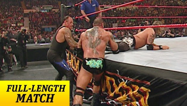 Historia del Wrestling: Batista vs Edge vs The Undertaker
