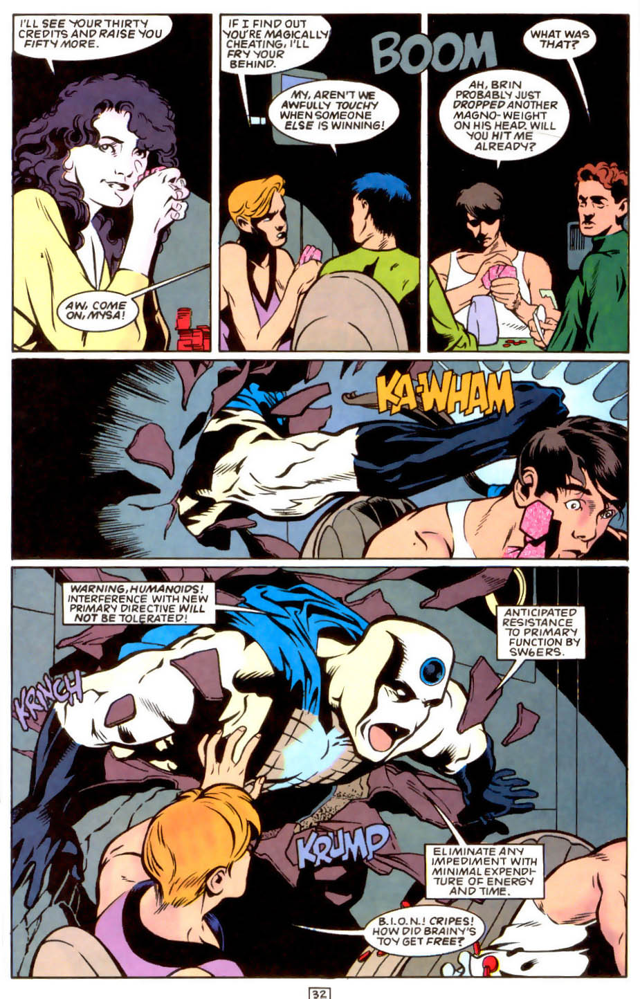 Legion of Super-Heroes (1989) 50 Page 32