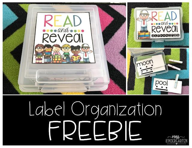 https://www.teacherspayteachers.com/Product/Read-and-Reveal-Label-Organization-freebie-2879278