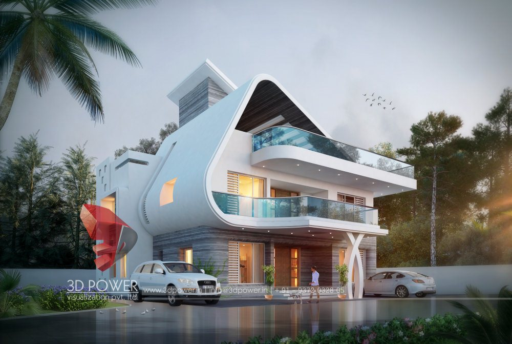 Modern hospital architecture hospital healthcare for Modern bungalow elevation