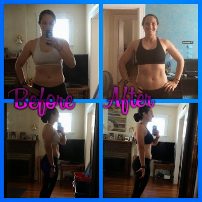 Healthy eating, 3 day refresh, motivation, workout results
