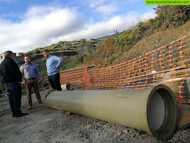 En junio se inicia la ejecución de la conclusión de las obras de riego en la Hoya Limpia, La Palma, con un presupuesto de 1,2 millones de euros