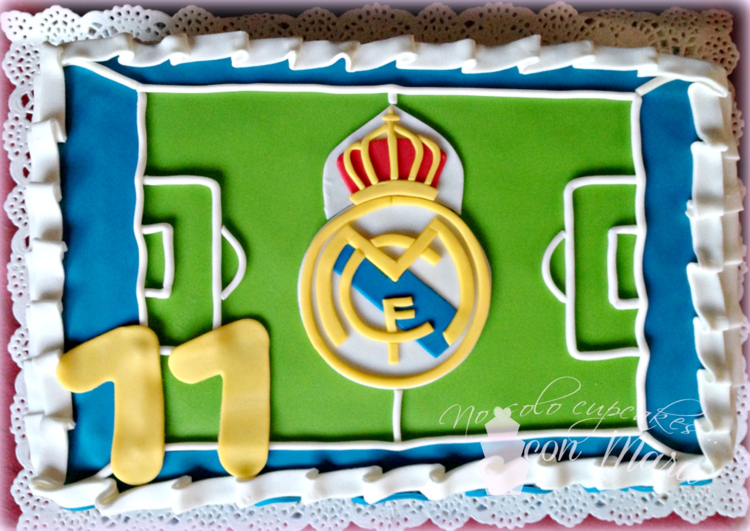 No solo cupcakes con mara tarta real madrid thecheapjerseys Images