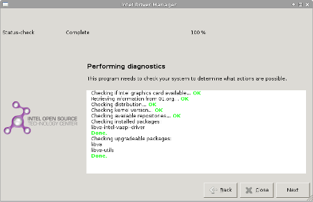Intel Linux Graphics Driver Update Utility for Ubuntu and Fedora