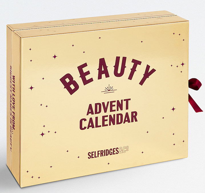 Spoilers and contents of the Selfridges Beauty Workshop Advent Calendar for Holiday 2017.