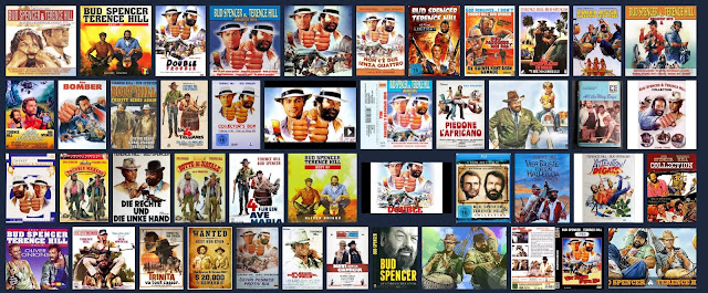 Collection of Bud Spencer and Terence Hill movies