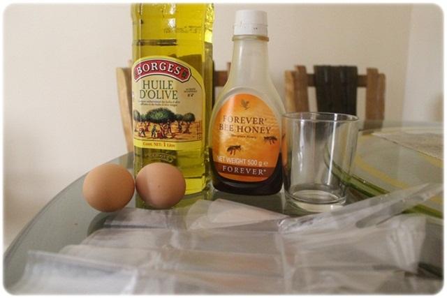 nappy diary masque prot in assouplissant au miel et l 39 huile d 39 olive. Black Bedroom Furniture Sets. Home Design Ideas