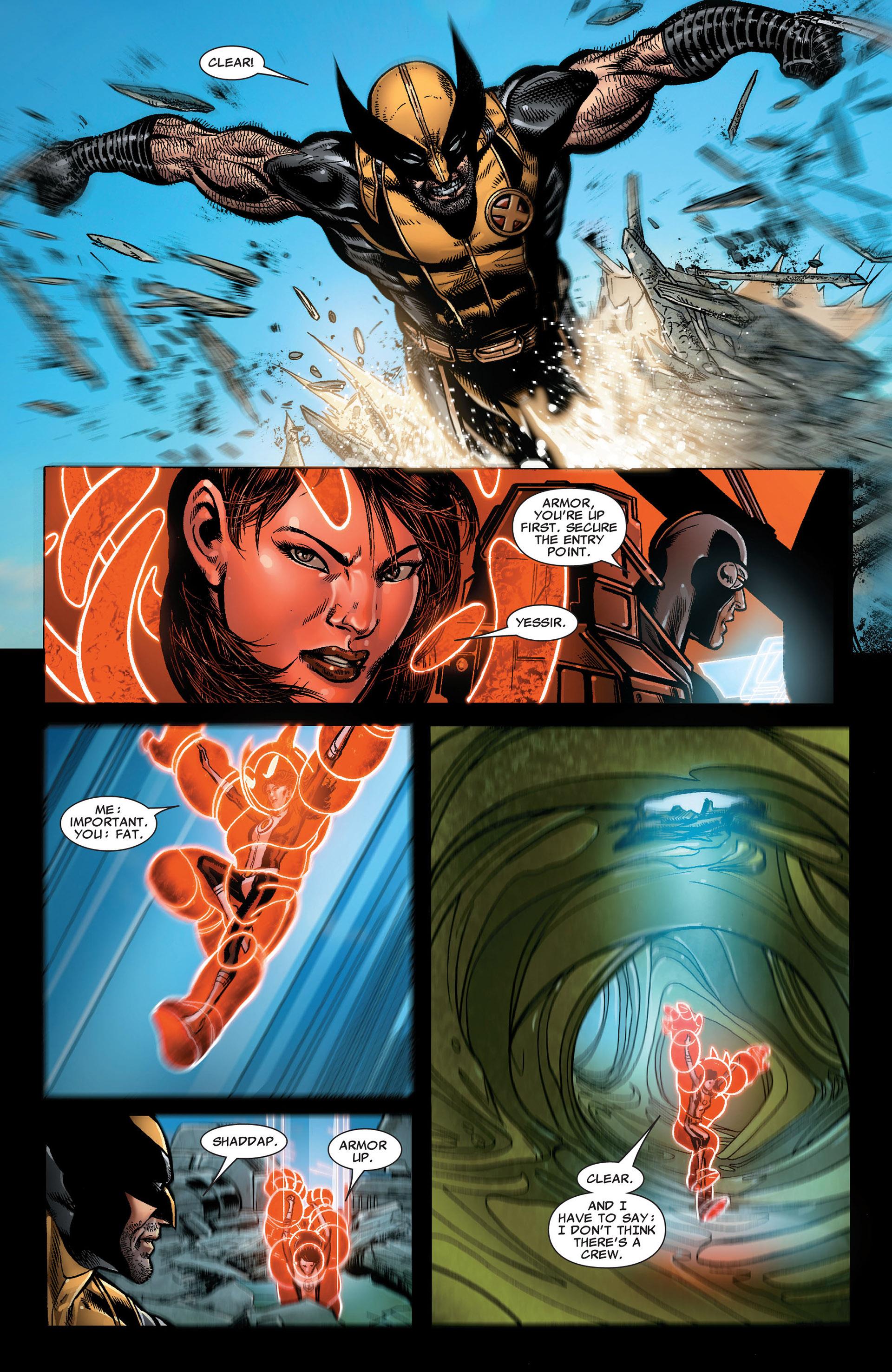 Read online Astonishing X-Men (2004) comic -  Issue #33 - 18