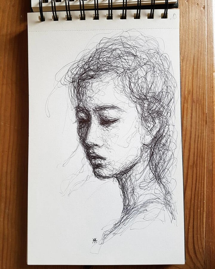 10-LY-Ahmet-Scribble-Portraits-www-designstack-co