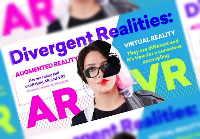 What's the Difference Between Virtual Reality and Augmented Reality? - infographic