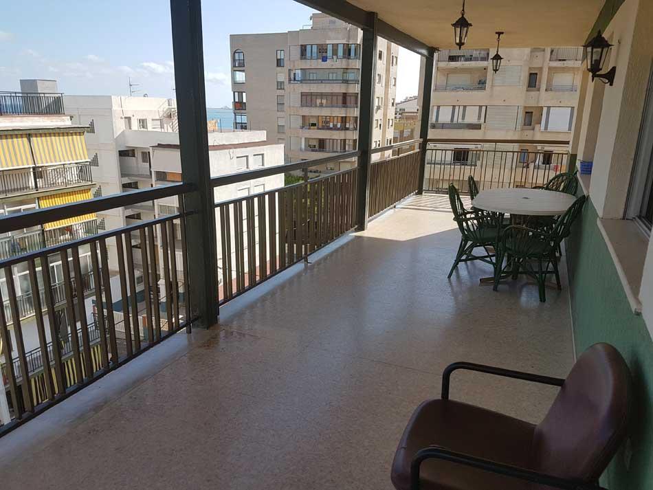 apartamento en alquiler calle les barraques benicasim terraza4