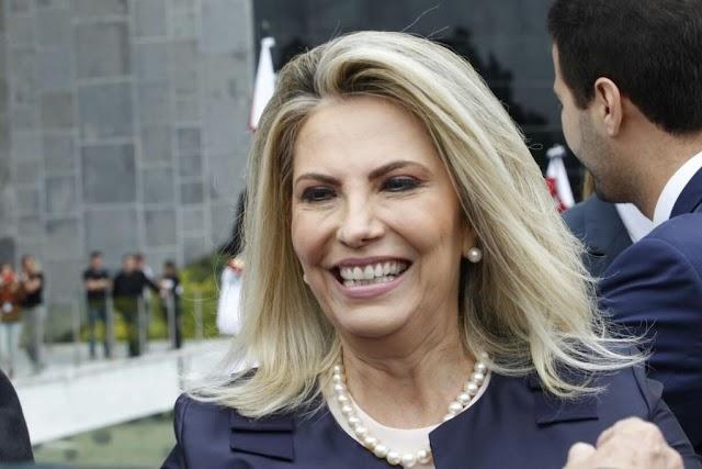 Governadora Cida Borghetti cresce nas pesquisas e começa assustar Ratinho Jr.