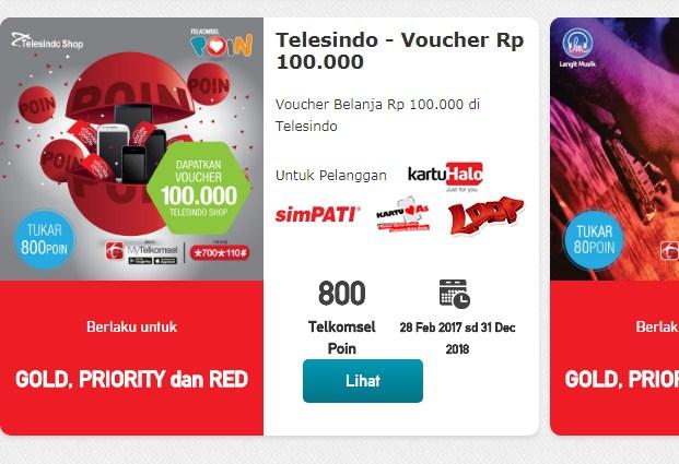 Di Alfamart untuk Tukar Poin Telkomsel 2019