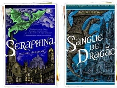 Resenha Seraphina & Sangue de Dragão - Série Seraphina - Livros 01 e 02 - Rachel Hartman