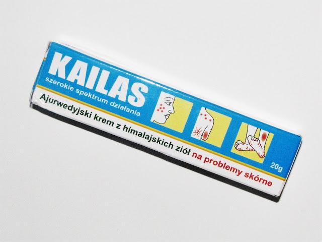 Kailas - ajurwedyjski krem z himalajskich ziół na problemy skórne KONKURS!!!
