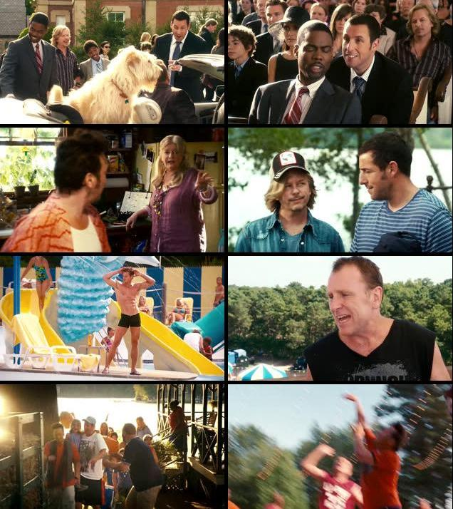 Grown Ups 2010 Dual Audio Hindi 480p BluRay