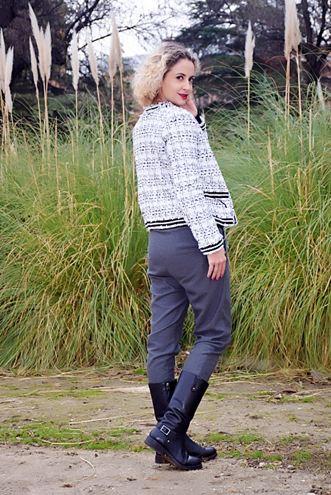 Outfit-Americana-tweed-adorno-perla-3