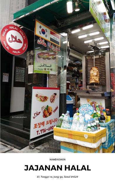 Adnan Kebab - Jajanan Halal di Namdaemun seoul