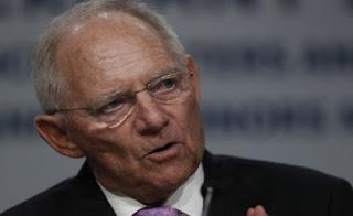 Σόιμπλε: Τα ελληνικά νούμερα αποδείχθηκαν πολύ καλύτερα των εκτιμήσεων του ΔΝΤ