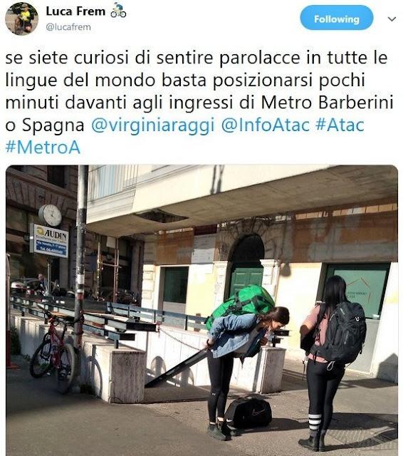 Situazione Trasporto Pubblico Roma giovedì 4 aprile
