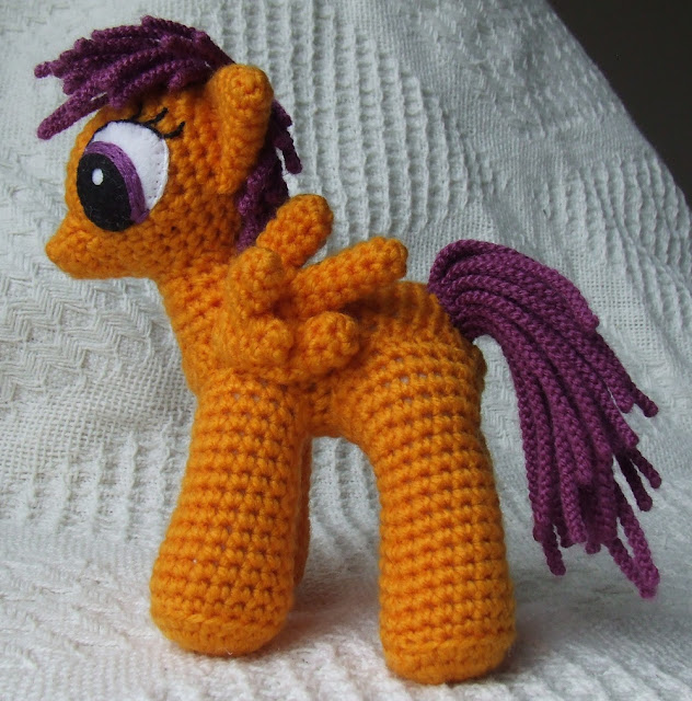 wzor konika pony