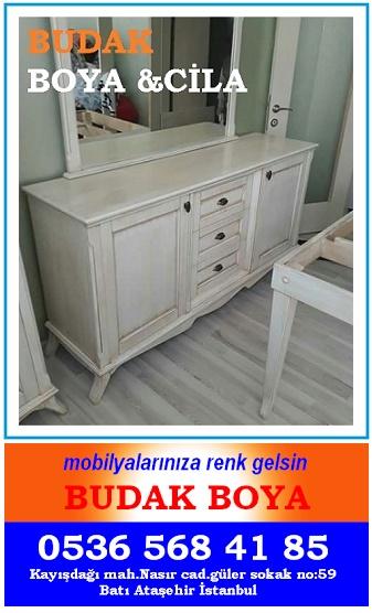Mobilya Cilacisi Ataşehir Mobilya Boyama 0536 568 Vernikantik