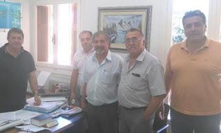 Συνάντηση προέδρων Κυνηγετικών Συλλόγων με το δασάρχη Ολυμπίας