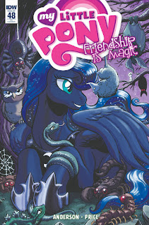 MLP Friendship is Magic Comic #48 by IDW RI Cover by Matt Frank