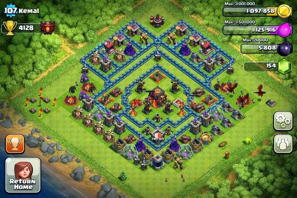 Clash of Clans 6.407.8 APK Terbaru