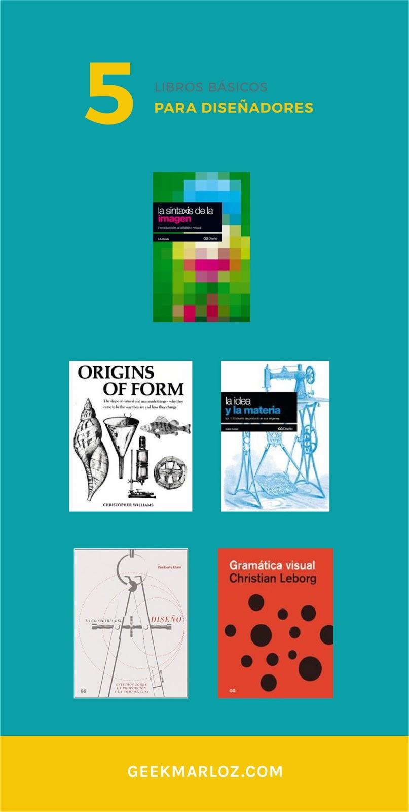Libros básicos para un diseñador