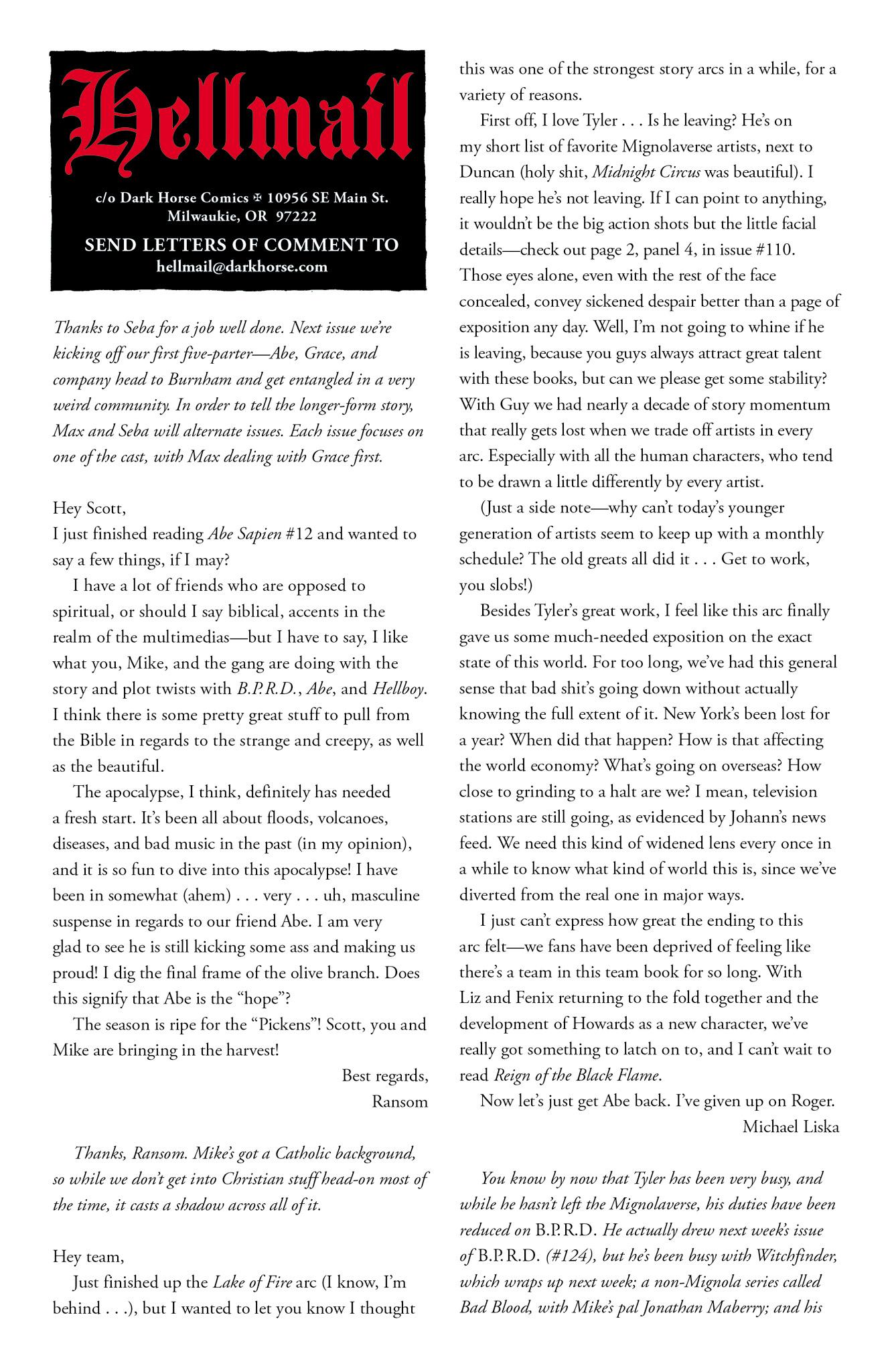 Read online Abe Sapien comic -  Issue #17 - 25
