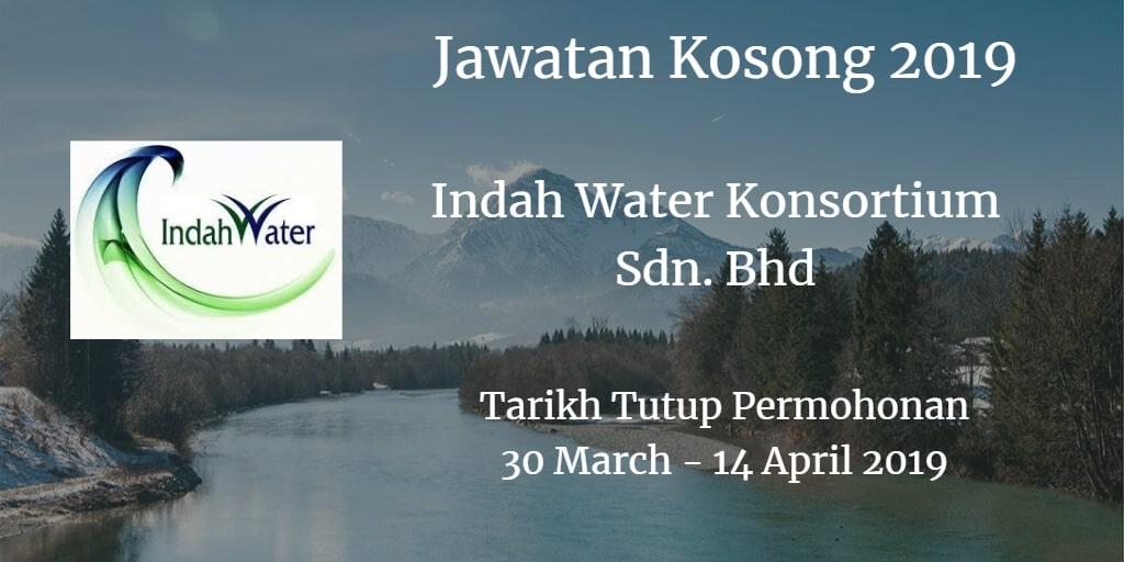 Jawatan Kosong Indah Water Konsortium Sdn. Bhd 30 March - 14 April 2019