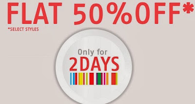 Shoppers Stop 2 Days Offer: Flat 50% Discount on Men's / Women's / Kids Apparels