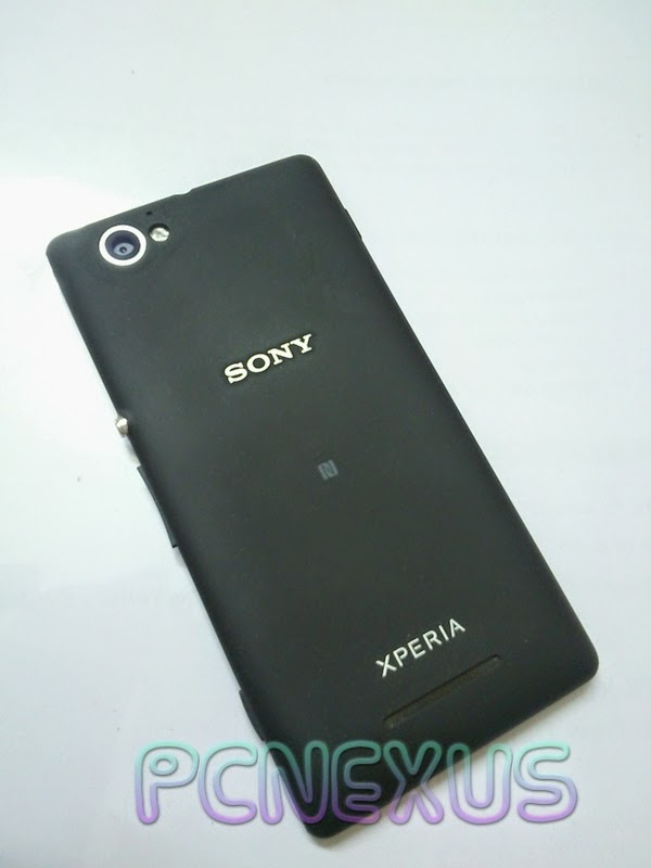 xperia M back panel cover