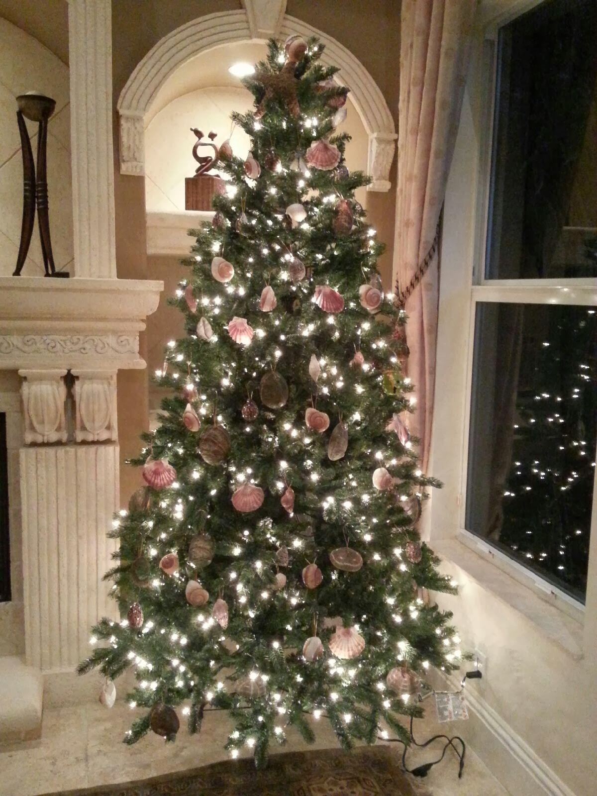 Nautical by Nature: Seashell Christmas Tree