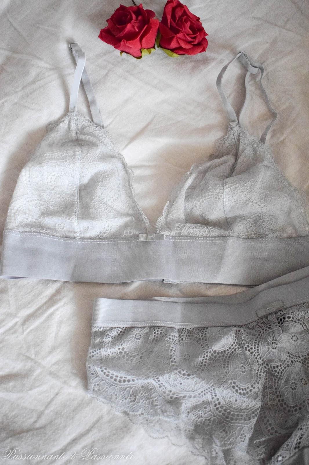 lingerie dentelle
