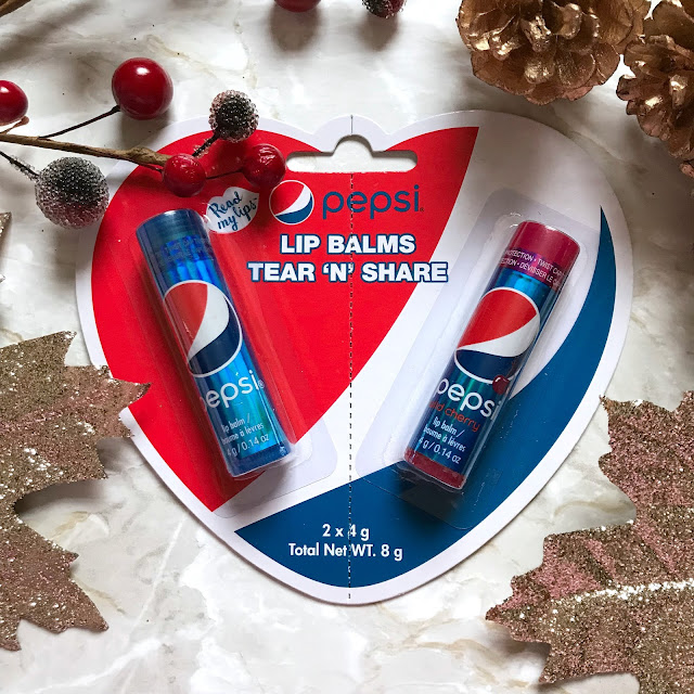 Pepsi Tear n Share Lip Balms
