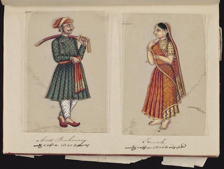 Arnee Brahman and Female