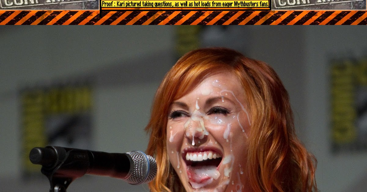 Kari byron loves cum, wife likes to show pussy