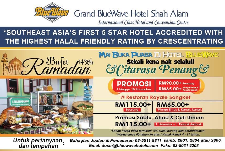 grand blue wave shah alam buffet ramadhan