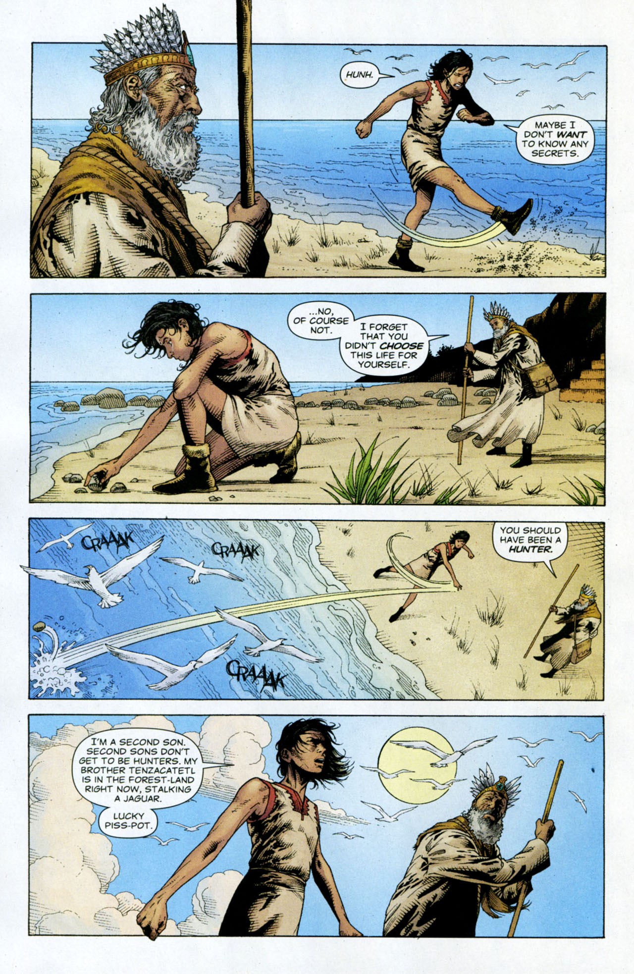 Read online Air comic -  Issue #10 - 5