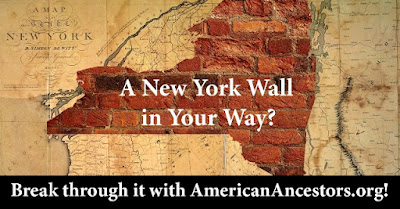 NEHGS Offers All New York Databases FREE on AmericanAncestors.org