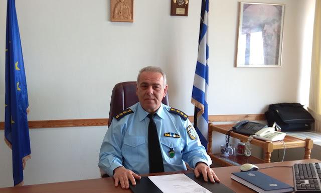 Με όρεξη για δουλειά ο νέος αστυνομικός διευθυντής Θεσπρωτίας