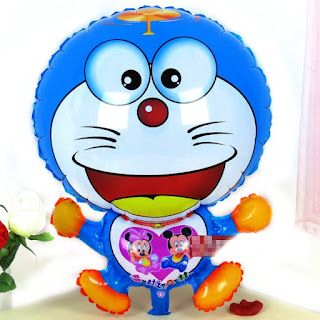Gambar Balon Karakter Doraemon Ulang Tahun Anak
