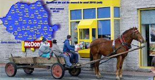 Topul județelor după numărul de căruțe