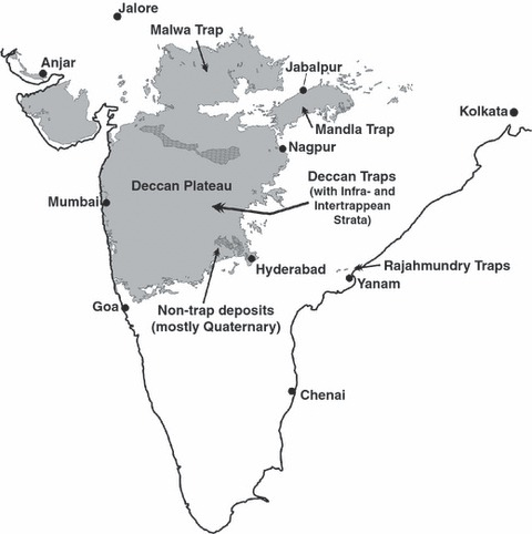Deccan Plateau On Map on