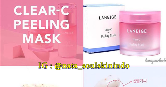 LANEIGE CLEAR C Peeling Mask 70ml | Original Cosmetics