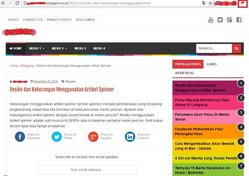 Halaman Blog AGC