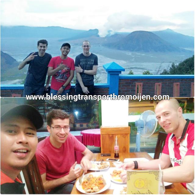 Hakim Gourari and friend, transport from Surabaya to Bromo-Ijen. June 23th-26th, 2017.